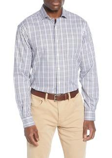 johnnie-O Pratt Classic Fit Plaid Button-Up Shirt