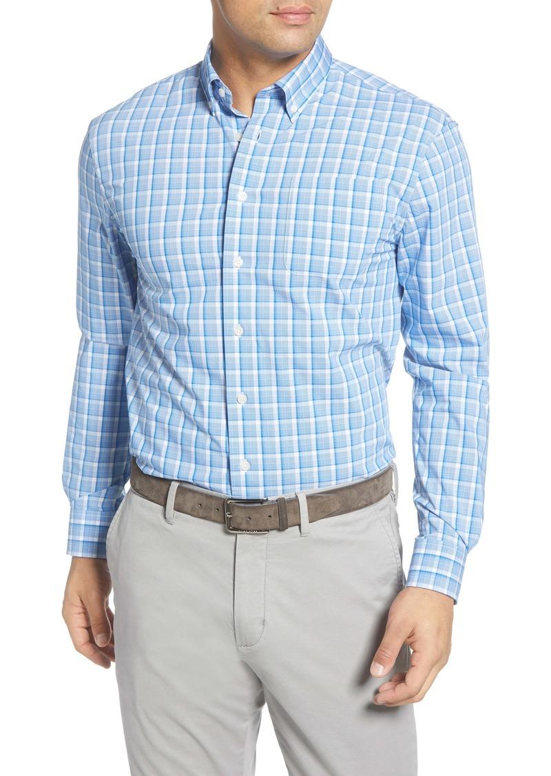 johnnie-O Seamus Prep-Formance Plaid Button-Down Shirt