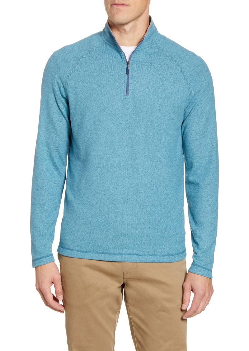 johnnie-O Stark Water Resistant Quarter Zip Pullover