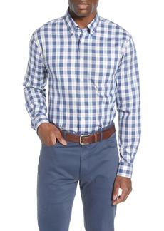 johnnie-O Swain Classic Fit Plaid Button-Down Shirt