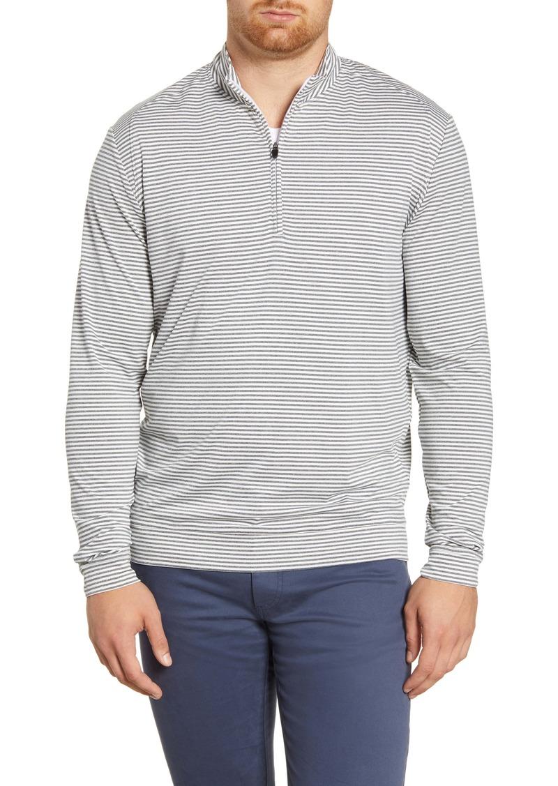 johnnie-O Turn Classic Fit Quarter Zip Pullover