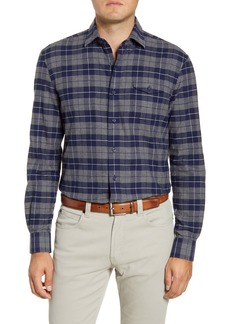 johnnie-O Wake Classic Fit Plaid Flannel Button-Up Shirt