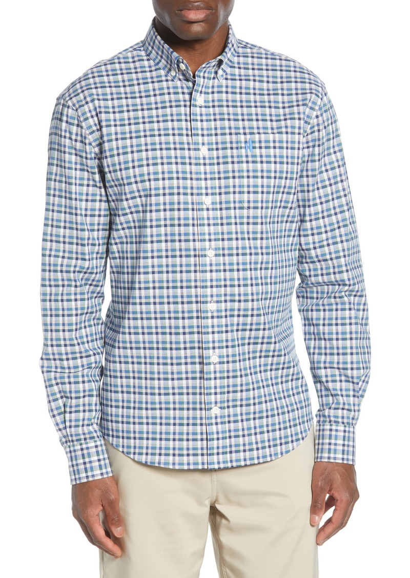johnnie-O Yellowstone Classic Fit Plaid Button-Down Shirt