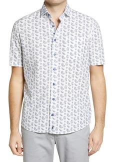 Men's Johnnie-O Maud Print Short Sleeve Button-Up Shirt