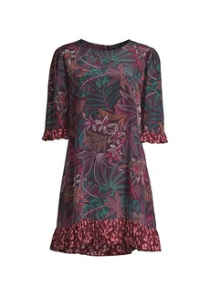 Johnny Was Alicante Tunic Shift Silk Dress