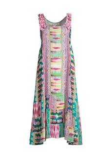 Johnny Was Betty Elodie Printed Silk Dress