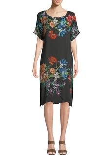 Johnny Was Flower Garden Georgette Dress