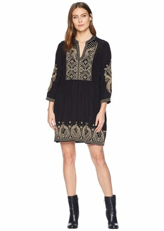 Johnny Was Himmel Boho Henley Dress