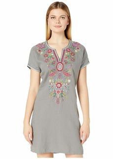 Johnny Was Hulda Linen Easy Tunic Dress