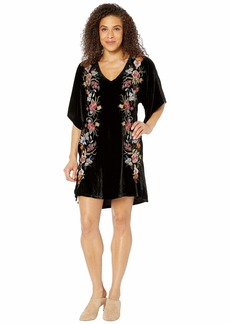 Johnny Was Isla Velvet Kimono Dress