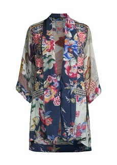 Johnny Was Issake Reversible Printed Kimono