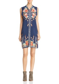 Johnny Was Collection Basille Embroidered Dress