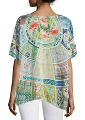 Johnny Was Neill Oversized Printed Tunic