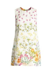 Johnny Was Ebele Floral Linen Shift Dress