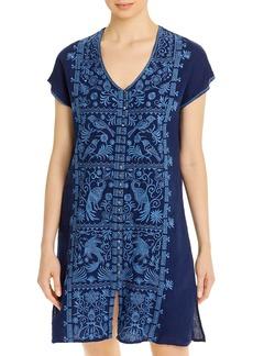 Johnny Was Harriet Embroidered Linen Dress