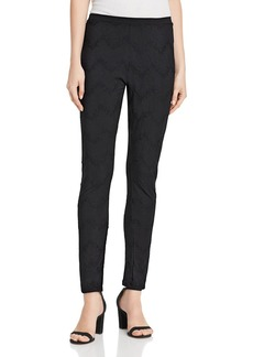 Johnny Was Pauline Eyelet Embroidered Leggings