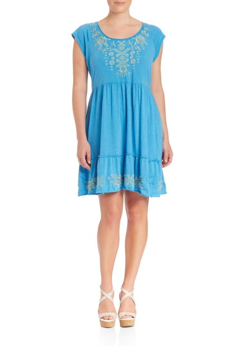 Johnny Was, Plus Size Aoko Tiered Dress