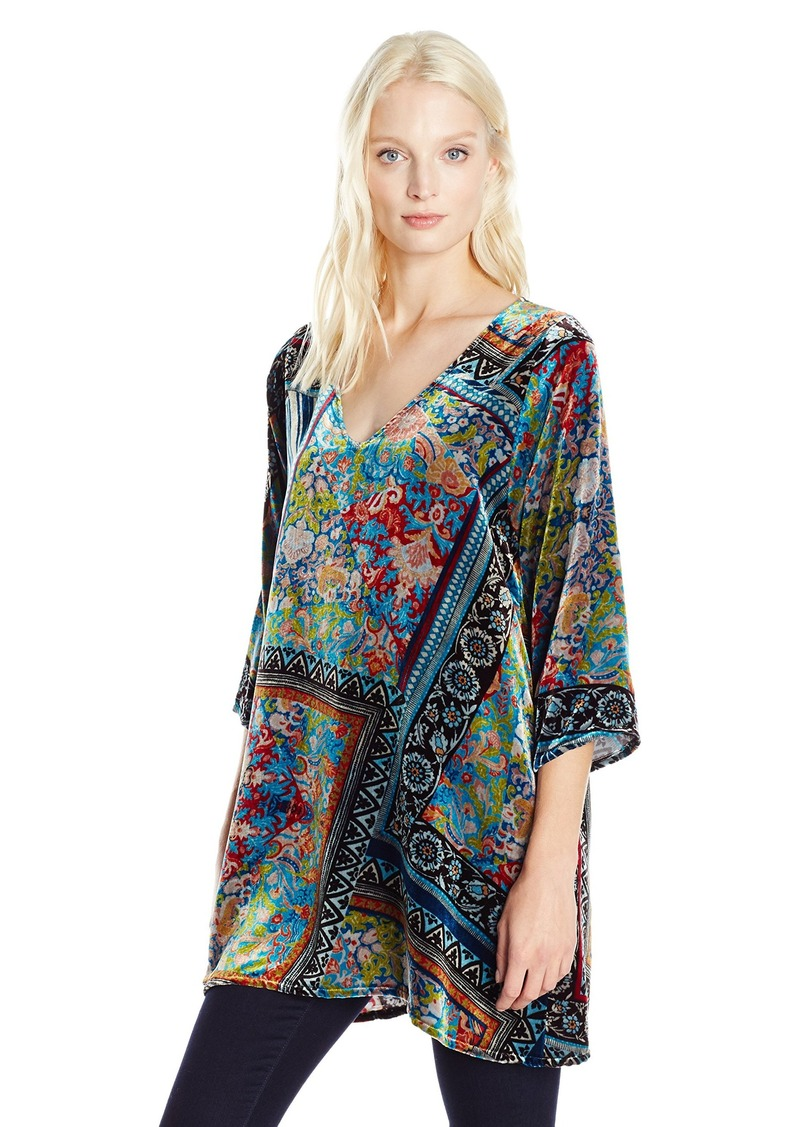 Johnny Was Women's Anita Vneck Tunic  S
