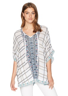Johnny Was Women's Cherpas Poncho  S