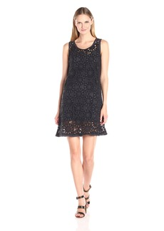 Johnny Was Women's Dial Eyelet Dress  L