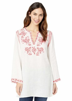 Johnny Was Women's Embroidered Tunic