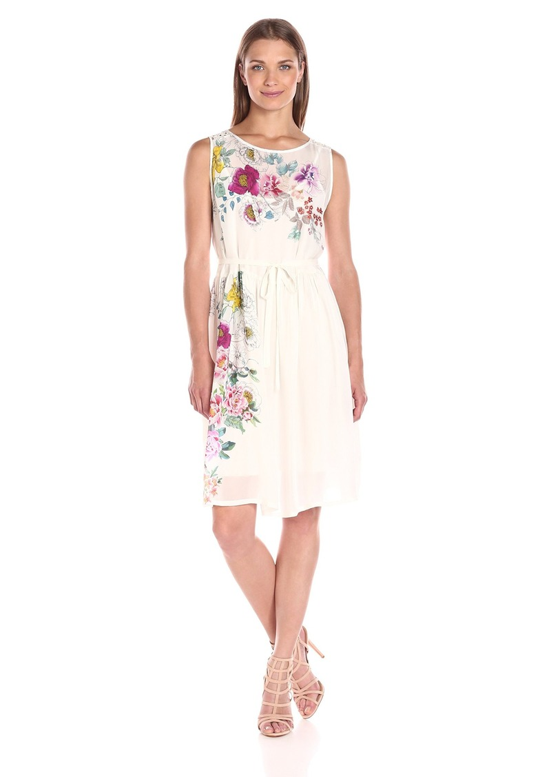 Johnny Was Women's Floral Boho Dress