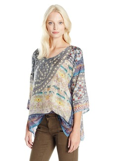 Johnny Was Women's Mirage Boxy Top  M
