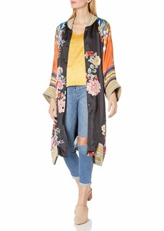 Johnny Was Women's Printed Long Sleeve Fashion Jacket  XS
