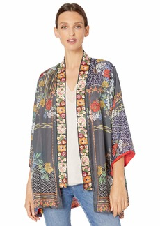 Johnny Was Women's Reversible Silk Kimono  M