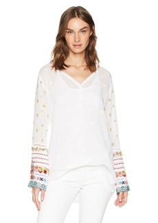Johnny Was Women's Simple All Over Tunic  M