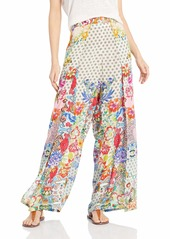 Johnny Was Women's Slit Front Pant