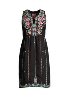 Johnny Was Maiorca Embroidered Dress