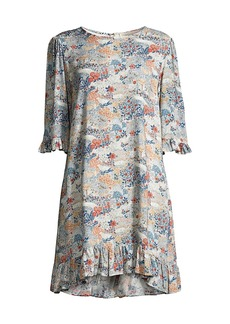 Johnny Was Marie Floral A-Line Dress