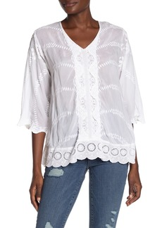 Johnny Was Milani Embroidered Tunic