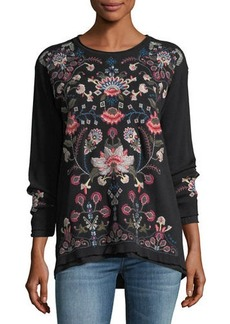 8f3e3bb11e846 Johnny Was Lennon Embroidered Cardigan | Sweaters