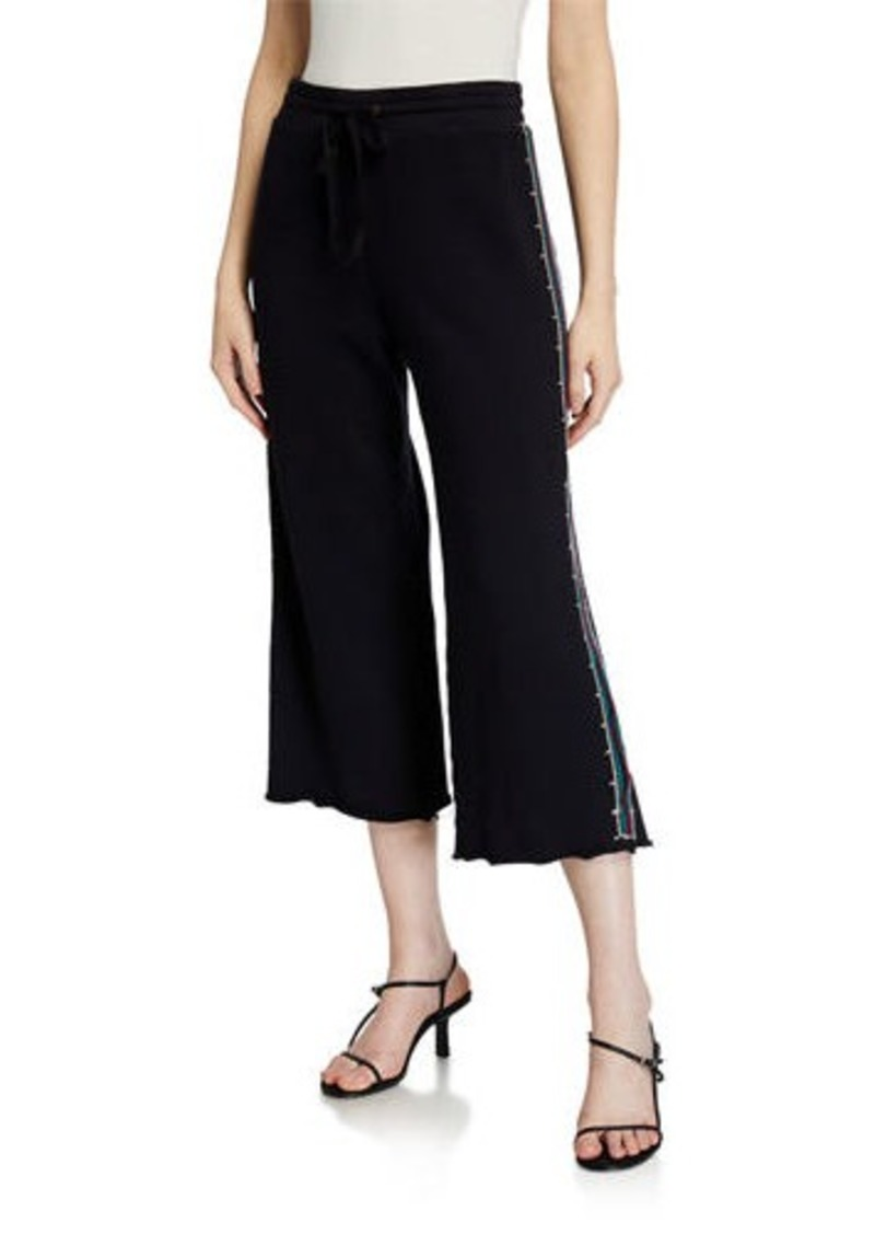 Johnny Was Petite Kaira French Terry Crop Pants