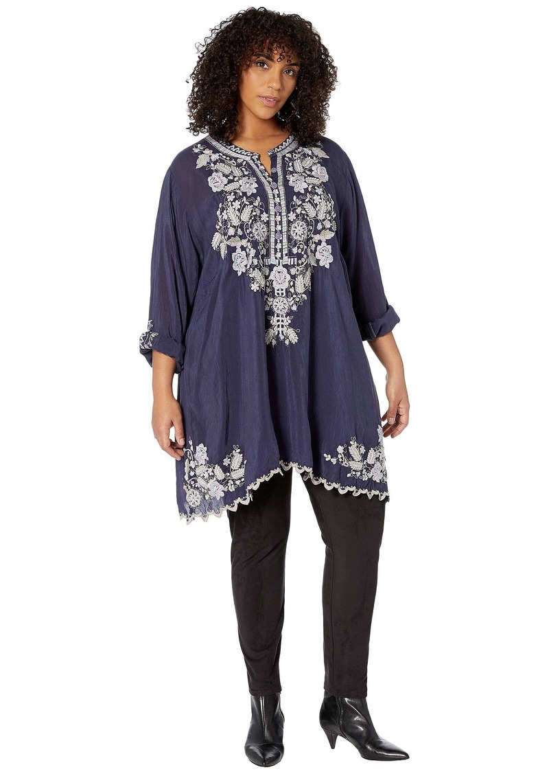 Johnny Was Plus Size Mayan Tunic