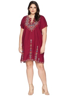 Johnny Was Plus Size Velsia Easy Tunic Dress