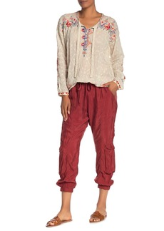 Johnny Was Ramble Pull-On Cargo Joggers