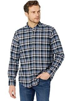Johnston & Murphy Button-Collar Premium Cotton