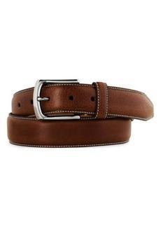 Men's Johnston & Murphy Calfskin Leather Belt