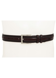 Johnston & Murphy Double-Pinked Belt