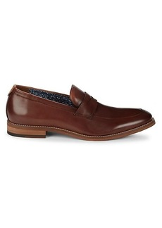 Johnston & Murphy Haywood Penny Leather Loafers
