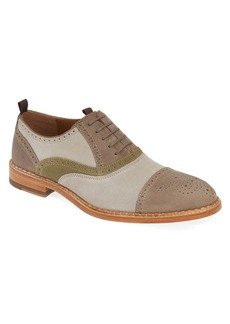 Johnston & Murphy J&M 1850 Chambliss Medallion Toe Oxford (Men)