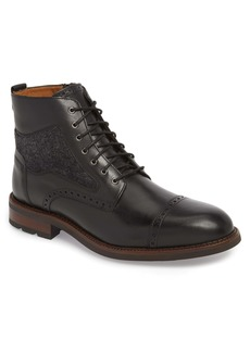 Johnston & Murphy J&M 1850 Fullerton Zip Boot (Men)