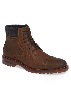 Johnston & Murphy J&M 1850 'Karnes' Brogue Cap Toe Boot (Men)