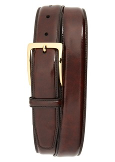 Johnston & Murphy Basic Smooth Leather Belt