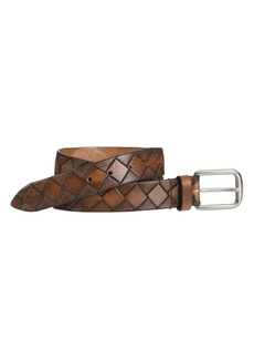 Johnston & Murphy Basket Weave Belt