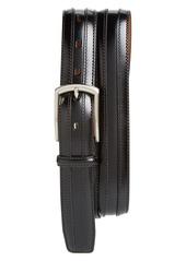 Johnston & Murphy Belt & Cap Toe Oxford Shoe
