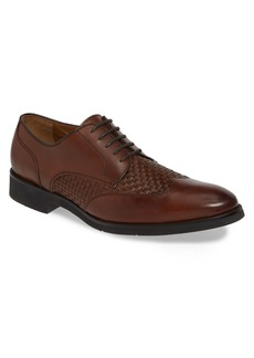 Johnston & Murphy Carlson Woven Wingtip Derby (Men)